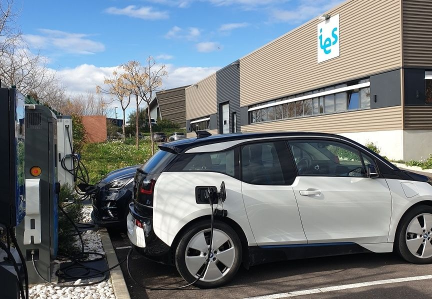 A recharging station at IES Facility – Origin IES