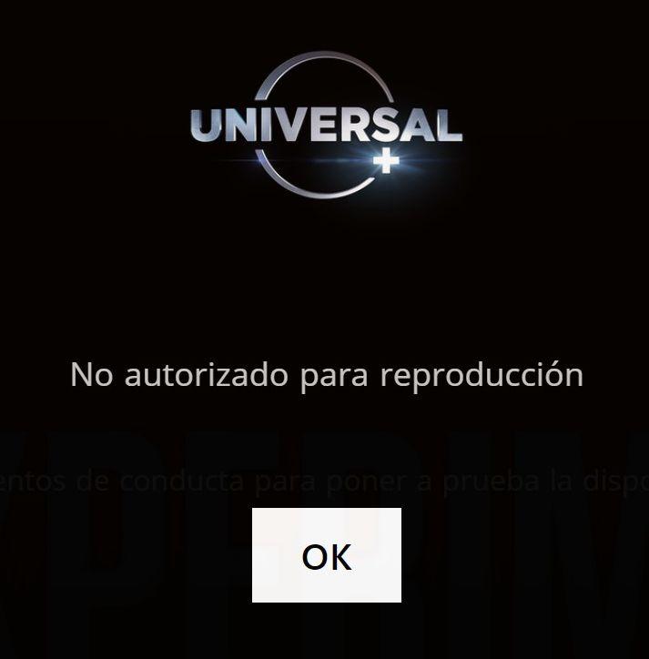 Cableoperadores - Streaming con Universal Plus - Captura de pantalla
