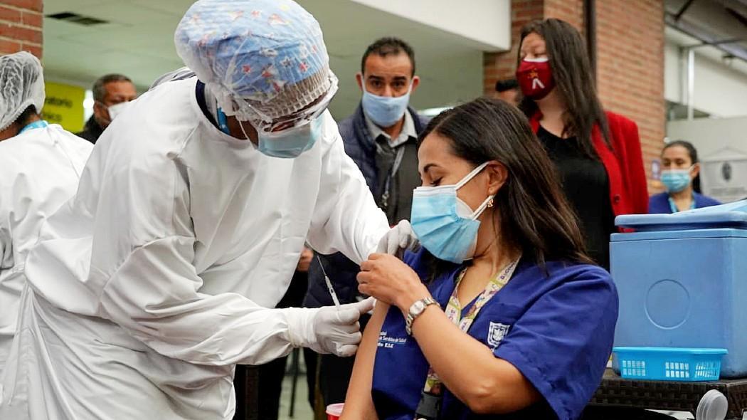 Vacunaciones en Bogotá - Origen Alcaldía de Bogotá D.C.