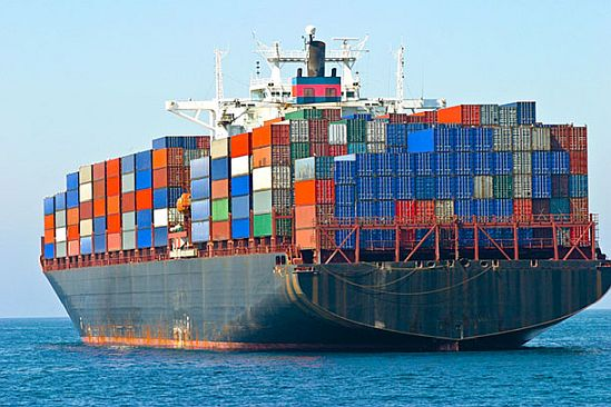 Barco transportador de contenedores - Origen desconocido