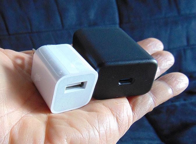 Cargadores USB y USB-C comparados - Colección TMN