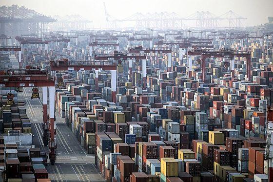 El puerto de Carga de Shangai en Enero de 2021 - Origen desconocido