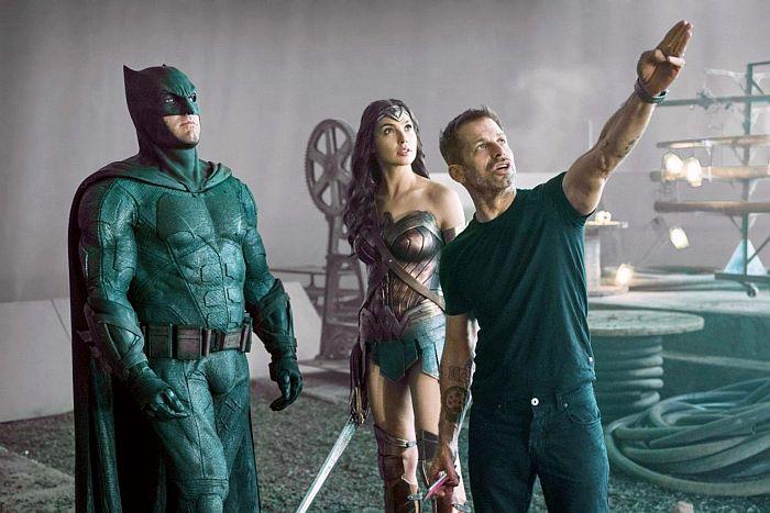 """Película """"Justice League"""" - Zack Snyder y actores - Foto EFE-HBO Max"""