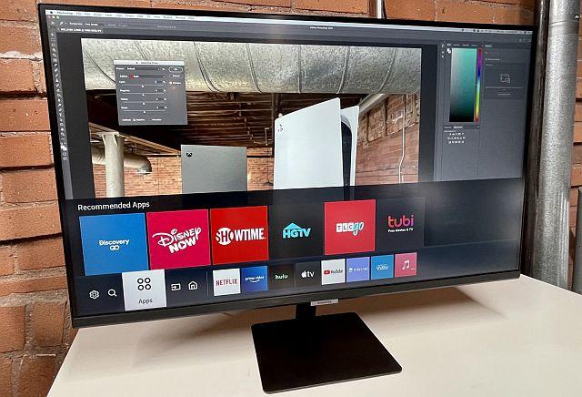 TV sin sintonizador - Samsung Smart Monitor M7 - Origen Newsweek