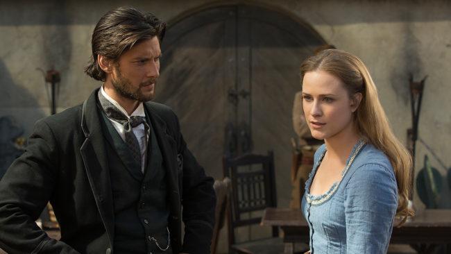 Ben Barnes y Evan Rachel Wood en Westworld - Origen HBO