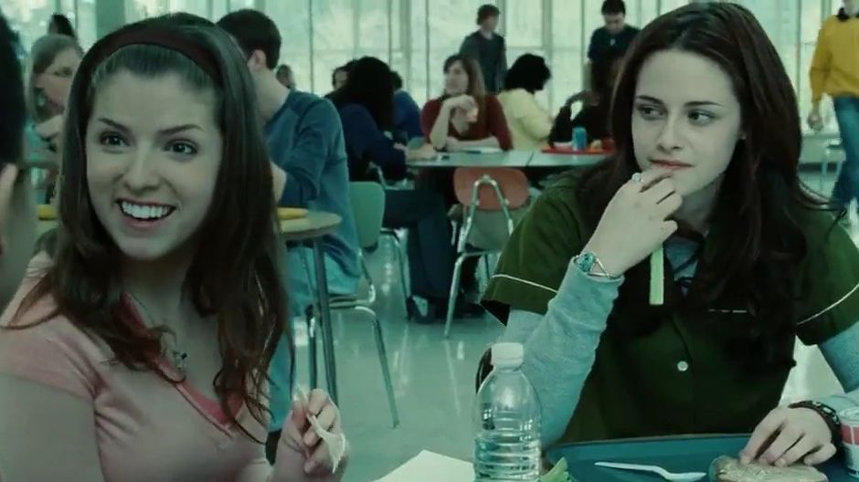 Actores - Anna Kendrick y Kristen Stewart en Twilight - Origen Summit Entertainment