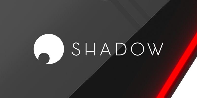 """Virtualización - Logo del servicio """"Shadow"""" - Origen Blade SAS"""