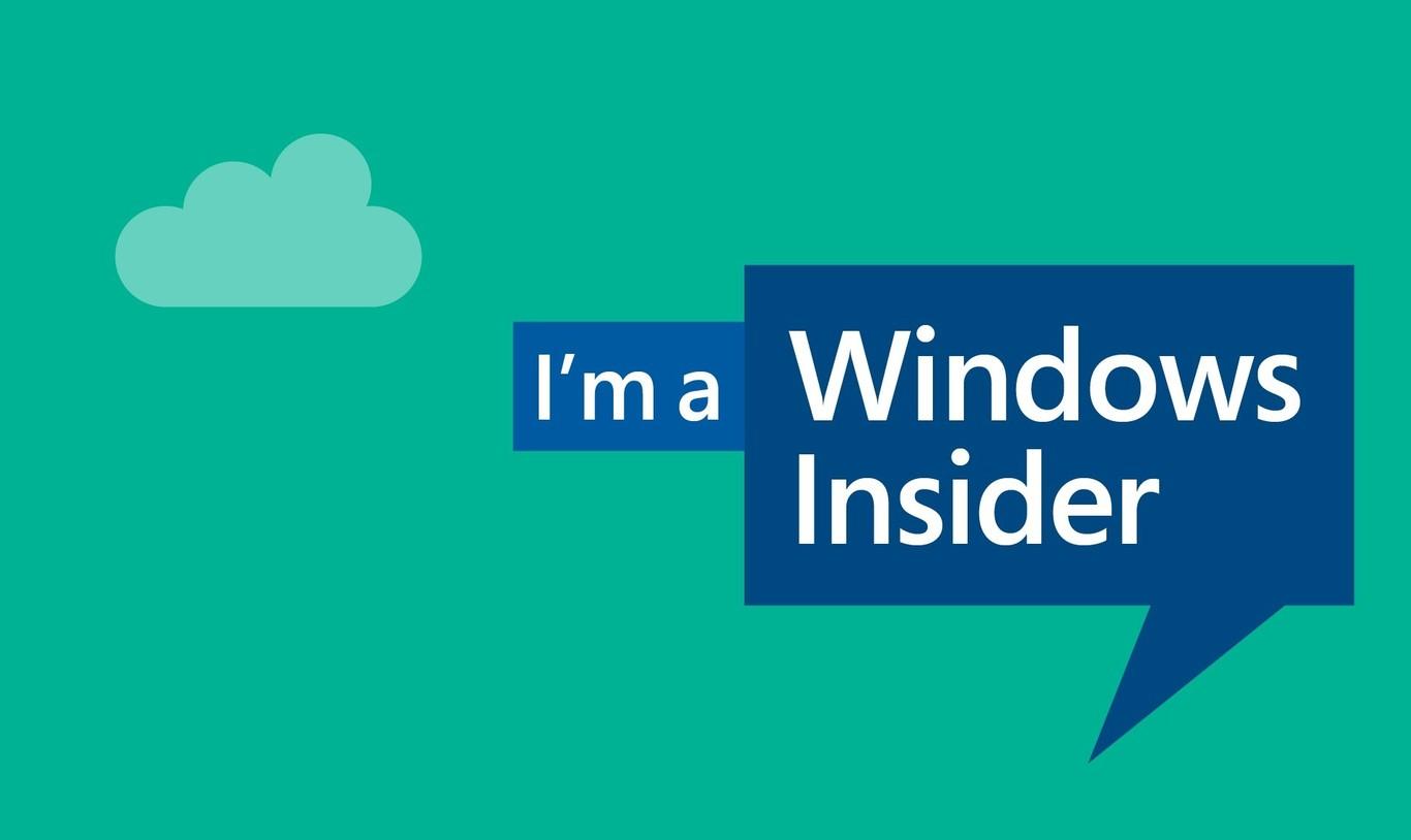 Pantalla de presentación de Windows Insider - Origen Microsoft
