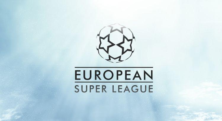 Futbol - Logo European Superleague - Ilustración conseguida en el sitio agonasport.com