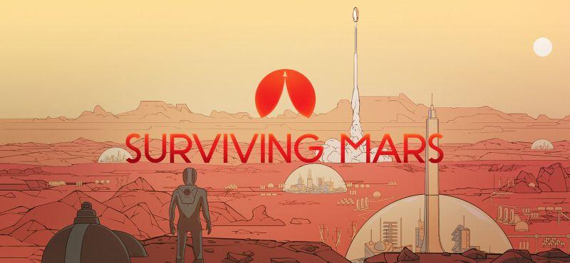 Marte - ilustración para el videojuego Surviving Mars - Origen Paradox Interactive