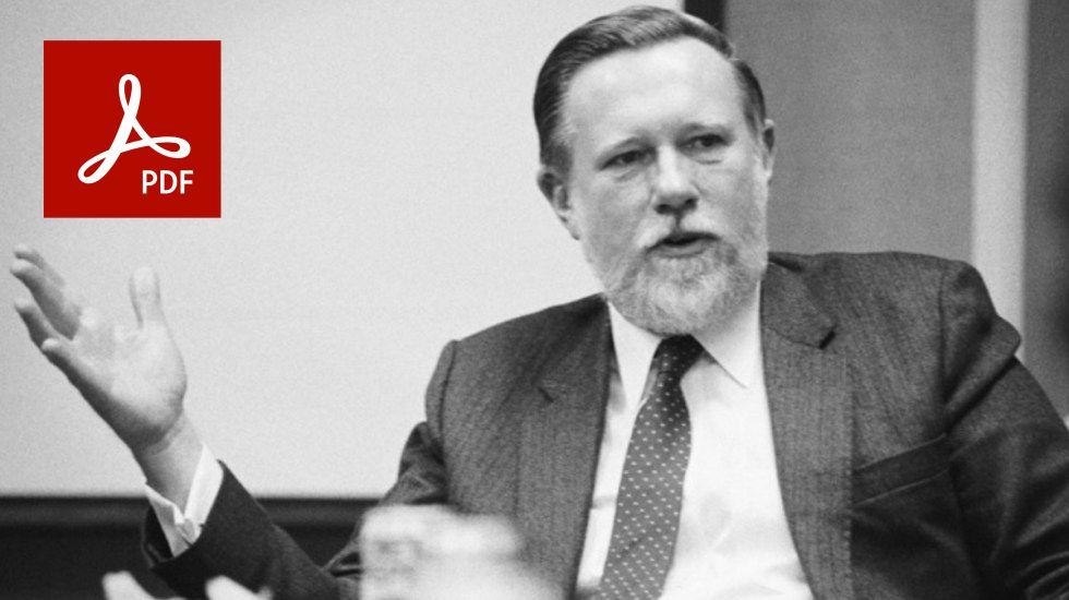 PDF y su papá Charles Geschke - composición con elementos de origen ADOBE