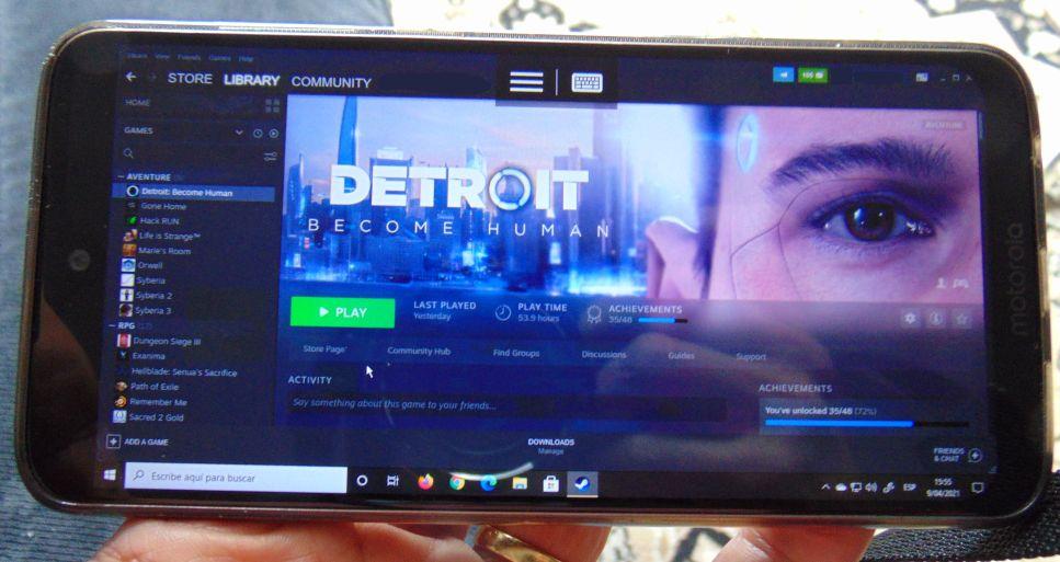 Virtualización - Conexión remota desde un smartphone - Colección TMN
