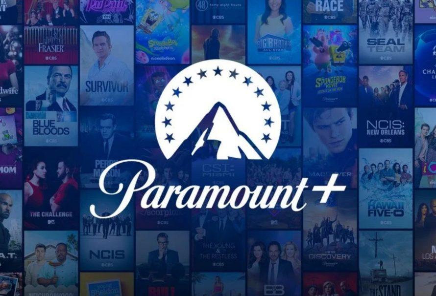 Hollywood - Afiche publicitaria para Paramount+ - Origen Paramount Pictures