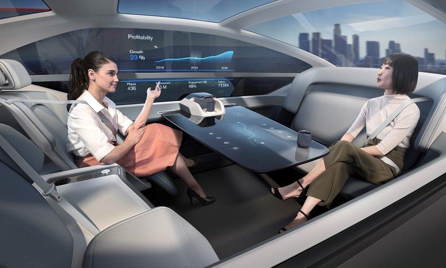 Inteligencia artificial - Automóvil autonomo - Origen VOLVO