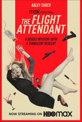 Afiche de la serie The Flight Attendant - Origen HBO Max