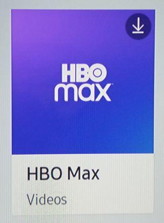 Appli HBO Max - Foto pantalla TV Samsung - Coleccion TMN