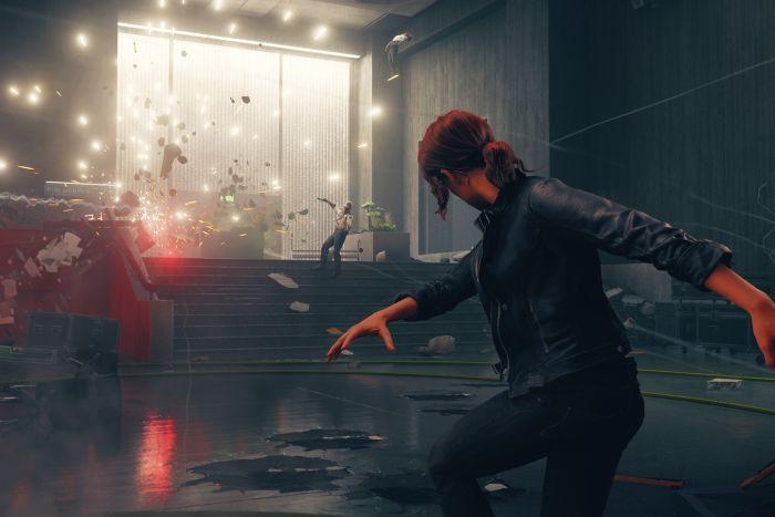 Control - Captura de pantalla en el juego