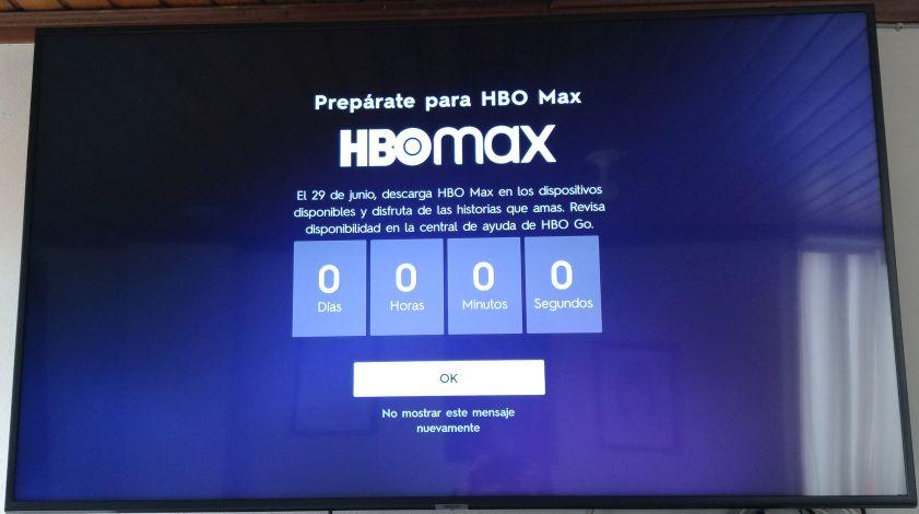 HBO Max - Cuenta regresiva expirada - Coleccion TMN