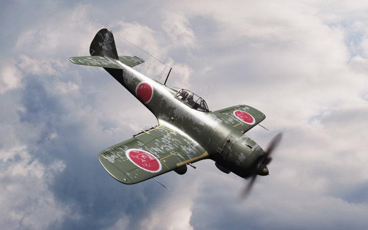 "Kamikaze - A Mitsubishi AM6 ""Zero"" - Origen desconocido"