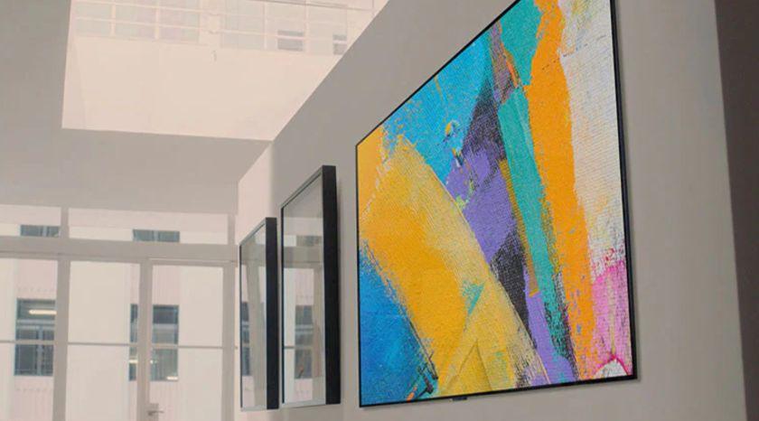 Una pantalla OLED LG en pared - Origen LG