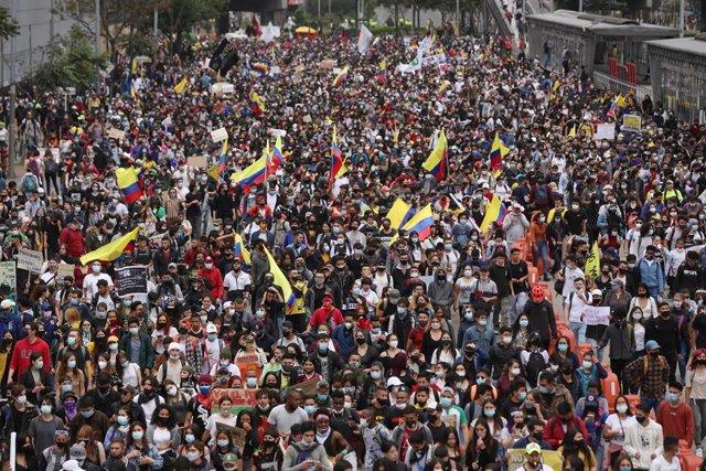 Protestas en Colombia - Foto por Camila Diaz/colprensa/dpa