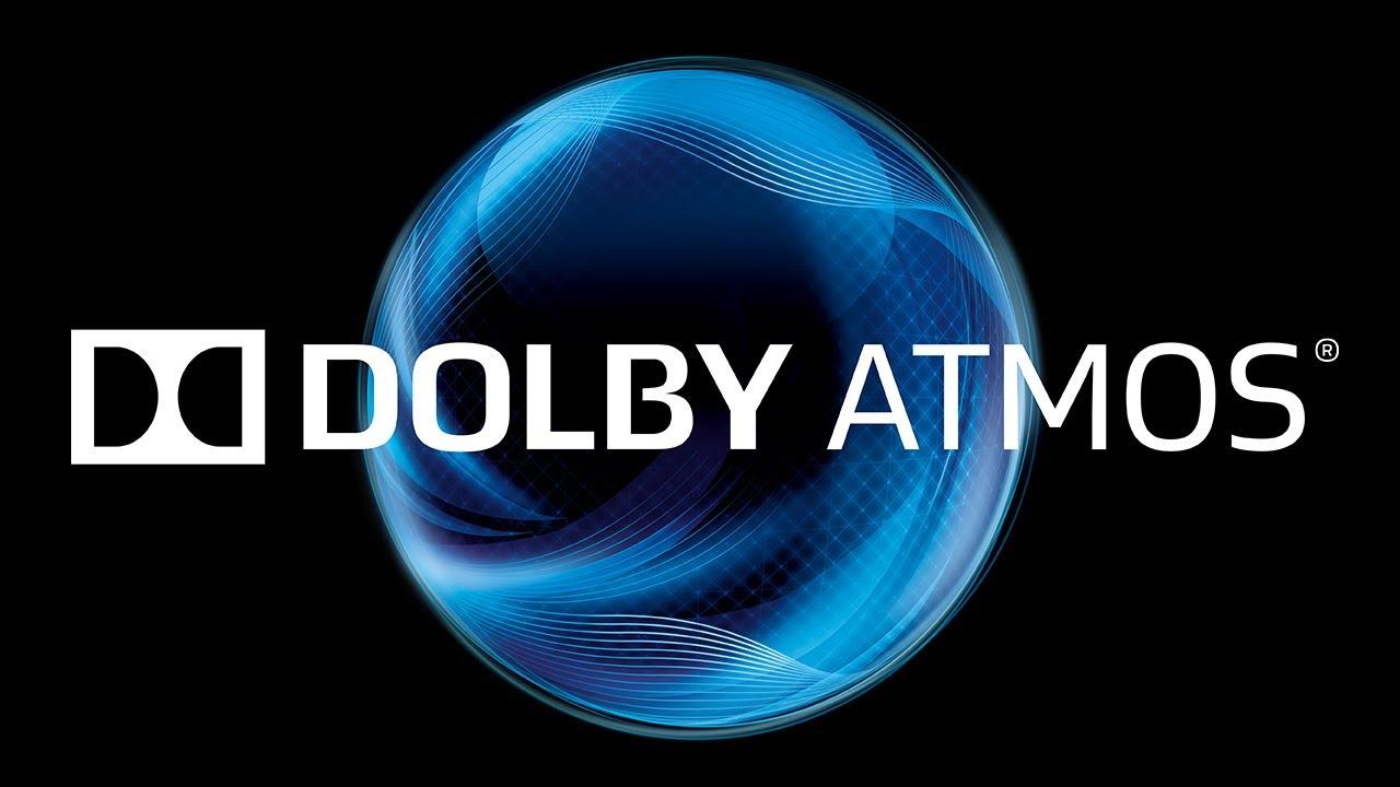 Sistemas de sonido - Logo de Dolby ATMOS - Origen Dolby Laboratories