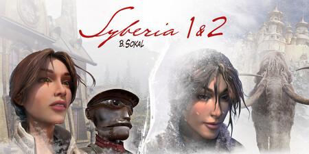 Afiche promocional para Syberia 1 y 2 - Origen desconocido (imagenes por Microids)