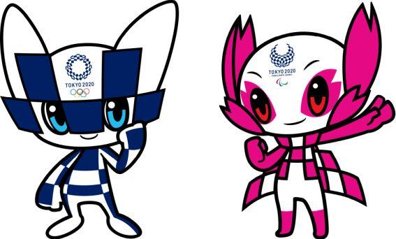 Miraitowa and Someity - Mascotas oficiales de los Juegos Olímpicos de Tokyo 2021
