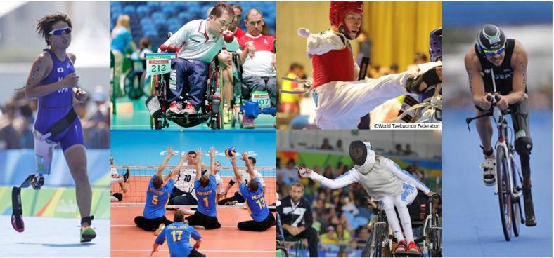 Fotomontaje sobre los Juegos Paralímpicos - Origen Desconocido