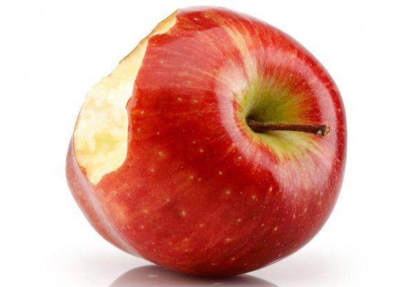 Apple - Una manzana mordida - Origen desconocido
