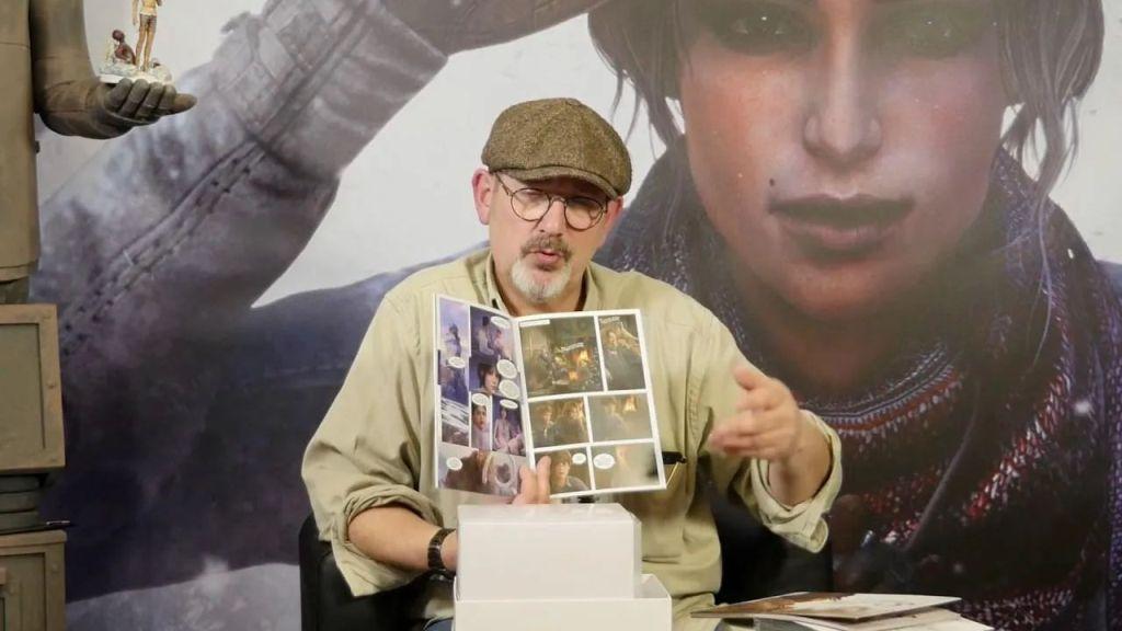 Benoît Sokal presentando a Syberia III - Origen desconocido