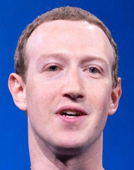 """Mark Zuckerberg en la """"Keynote 2019"""" - Origen desconocido (Wikipedia)"""